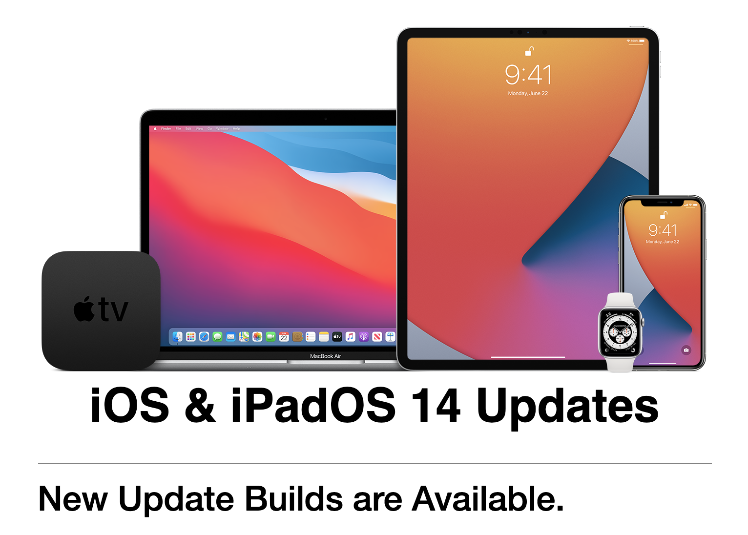 iPadOS 14.5 and iOS 14.5 beta 1 is out!