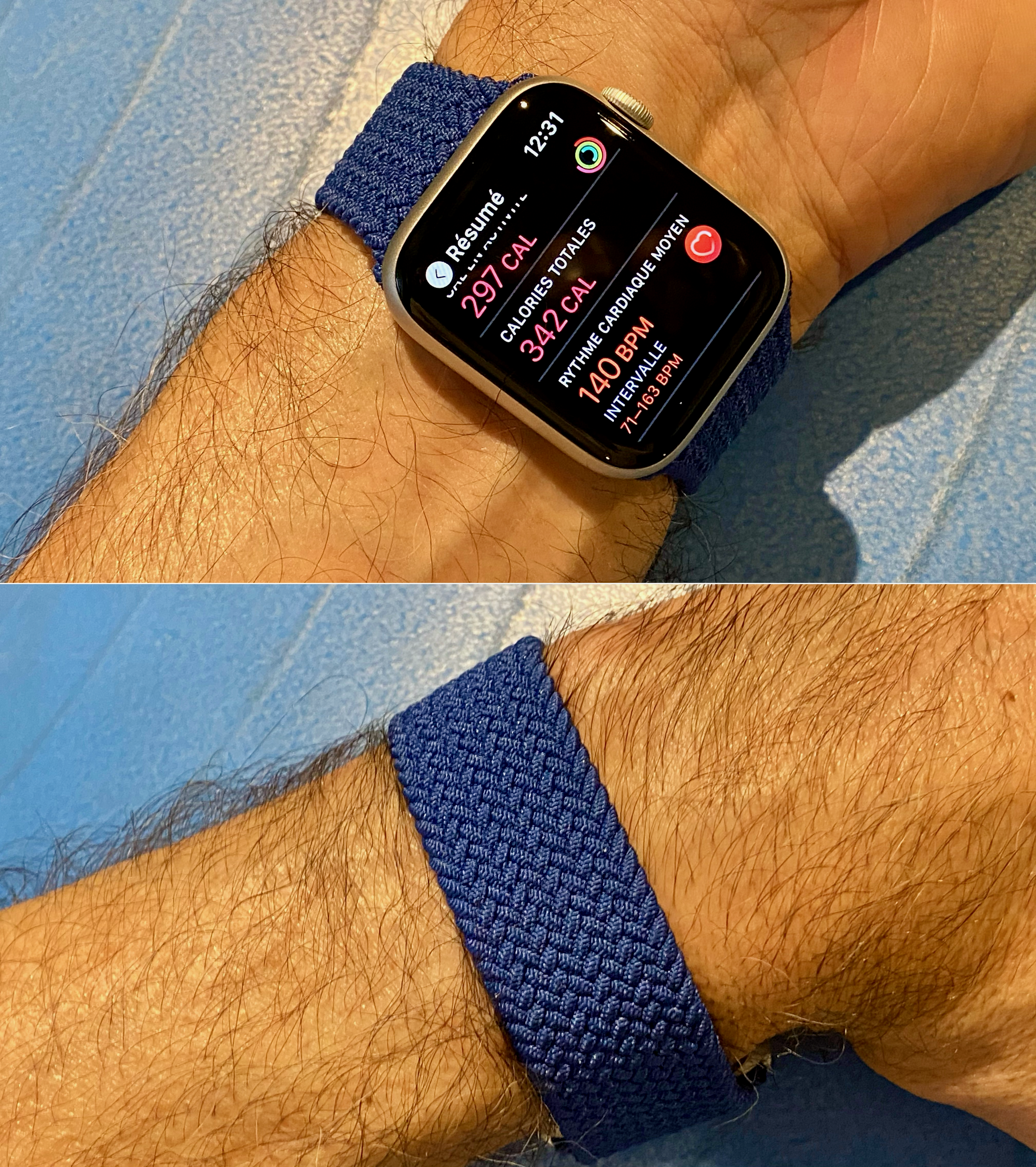 A different way to wear the Apple Watch